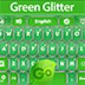 GO Keyboard Green Glitter Theme