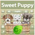 GO Keyboard Sweet Puppy Theme