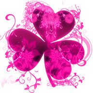 Pink Flowers Theme GO Launcher
