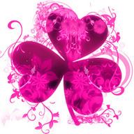 Bunga Pink Theme GO Launcher