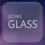 GO SMS Glass Theme