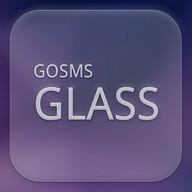 GO SMS Glass Theme