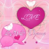Romantic Theme GO SMS Pro