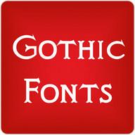 Gothic para FlipFont® gratis