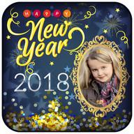 2018 Happy New year photo frames :New Year Frames