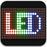 Led scrolling display : share led messages