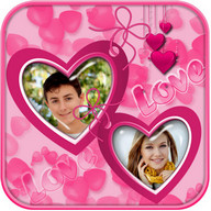 Love Couple Photo Collage