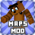 Maps Mod Fnaf for Minecraft