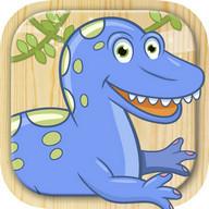 cat dan dinosaurus permainan