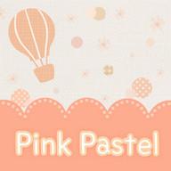 Pink Pastel Atom theme