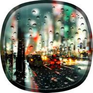 Rainy City Live Wallpaper HD