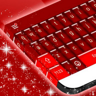 Red Candy GO Keyboard theme