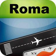 Rome Airport + Radar FCO Flight Tracker
