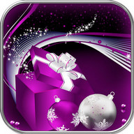 Royal Purple Christmas Theme