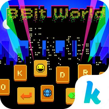 8-Bit World ??Keyboard Theme