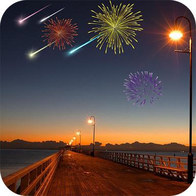 Meteor Shower FireWorks
