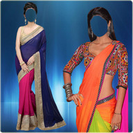 Saree Blouse Photo Suit
