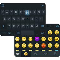 Simple Black Emoji iKeyboard