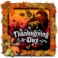 Thanksgiving Day Photo Frames