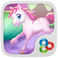 Unicorn GO Launcher Theme