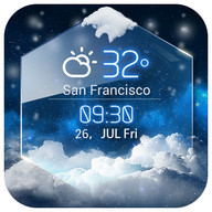 Cuaca – the local Weather today widget