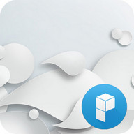 White Solid Launcher Theme