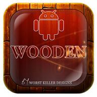 wooden Go,Nova,Adw,Holo,Apex