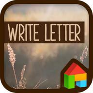 Letter LINE Launcher theme
