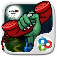 Zombie Night GOLauncher EX Theme
