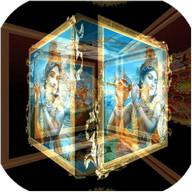 3D Shree Krishna LWP