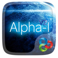 Alpha-I GO Launcher Theme