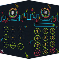 AppLock Theme Nightclub - Give your lock screen some disco style