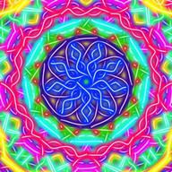 Kaleidoscope Magic Paint