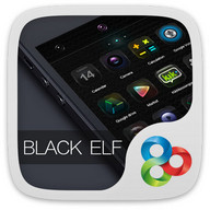 Black Elf GO Launcher Theme