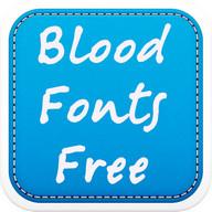 Blood Fonts Free