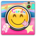 Candy Camera Sticker