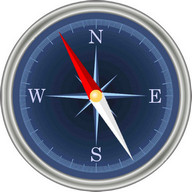 Compass with GPS