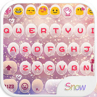 Winter Storm Emoji Keyboard