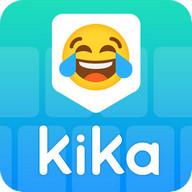 Clavier Kika - AZERTY Clavier, Emoji, GIF