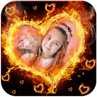 Fire Photo Frames