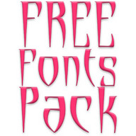 Free Fonts Pack 14