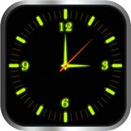 Glowing Clock Locker - Green