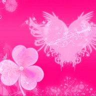 Hearts Pink Theme GO Launcher