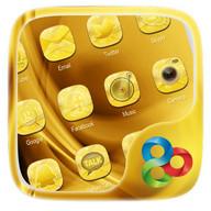 Golden GO Launcher Theme
