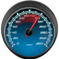 GPS Speedometer in mph