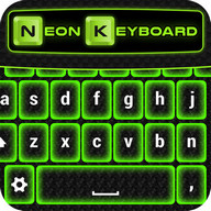 Green Neon Keyboard Themes