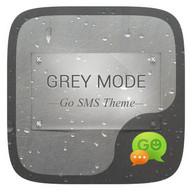 (FREE) GO SMS GREYMODE THEME