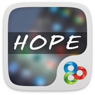 Hope GO Launcher Theme