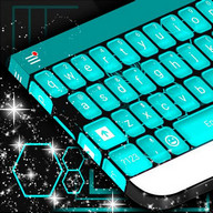 Blue Tech Keyboard Theme