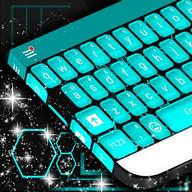 Blue Tech Keyboard Thema